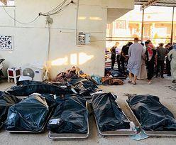 """92 osoby zginęły w pożarze szpitala w Iraku. """"Chorzy ludzie palili się żywcem"""""""