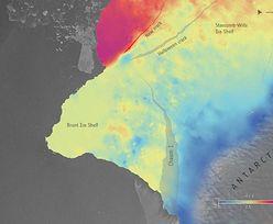 Naukowcy z EAS biją na alarm. Odrywa się gigantyczny fragment Antarktydy