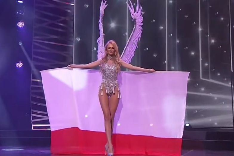 Miss Polski i jej kostium narodowy. Tak się pokazała w USA. Lawina komentarzy