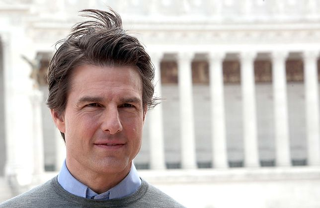 Tom Cruise w Rzymie (Getty Images)