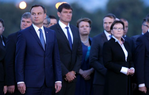 Ewa Kopacz i Andrzej Duda nie podali sobie rąk na Westerplatte
