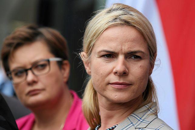 """Joanna Schmidt dystansuje się od partii Nowackiej. """"To plotki wyssane z palca"""""""