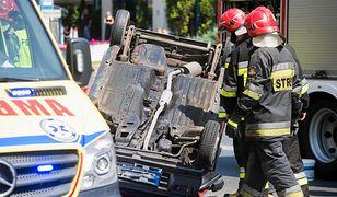 Wypadek Daewoo Tico w Bydgoszczy