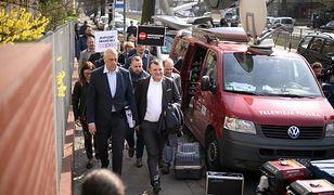 15 kwietnia 2018 r. Stanisław Gawłowski w drodze na posiedzenie sądu, który zadecydował o trzymiesięcznym areszcie tymczasowym dla polityka