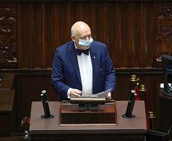 Korwin-Mikke sprzeciwia się maseczkom w Sejmie. Oryginalne uzasadnienie...