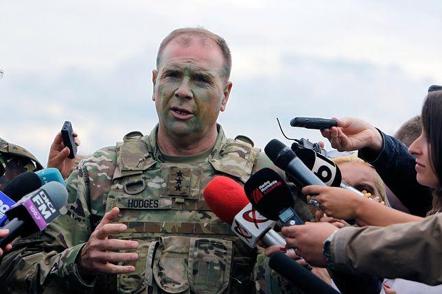 Były dowódca amerykańskich wojsk w Europie gen. Ben Hodges