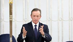Tomasz Grodzki na antenie TVP. Orędzie marszałka Senatu