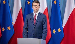 Tematem rozmowy z Piotrem Müllerem była również wpadka Antoniego Macierewicza w Sejmie