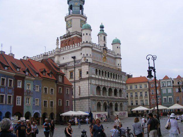 Ratusz w Poznaniu będzie zielony