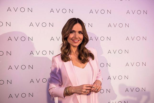 Marta Żmuda-Trzebiatowska na konferencji Avon