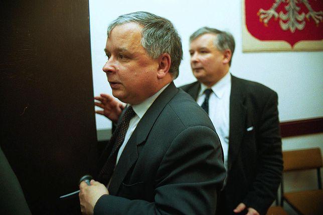 Lech i Jarosław Kaczyńscy