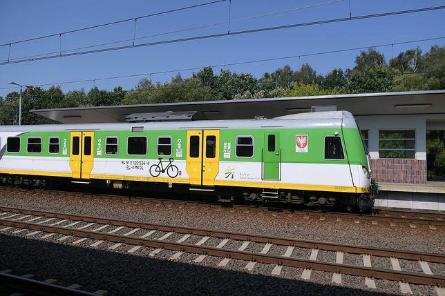 Warszawa. Pociąg potrącił dwóch mężczyzn