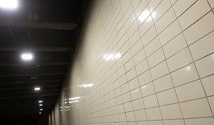 Warszawa. Nowe oświetlenie w tunelu na ul. Rzymowskiego