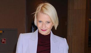 Małgorzata Kożuchowska nie potrzebuje makijażu.