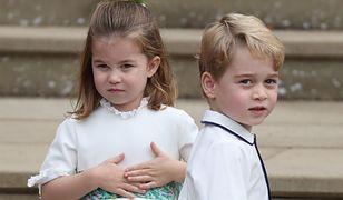 Książę George ma nieelegancki nawyk