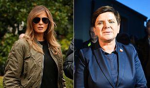 Melania Trump kontra Beata Szydło. Ich stylizacje budzą kontrowersje