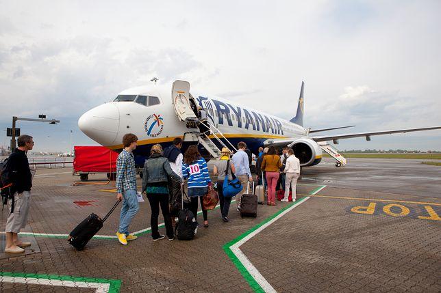 Odwołane loty Ryanaira. Specjalna infolinia dla pasażerów
