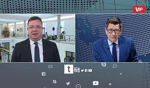 """""""Ja bym siedział"""". Wiceminister Michał Wójcik dobitnie o sprawie Kamila Durczoka"""