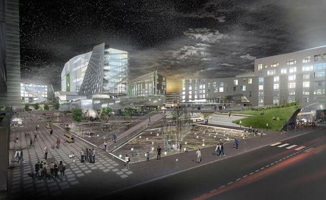 Futuwawa: Tak mogłaby wyglądać Warszawa
