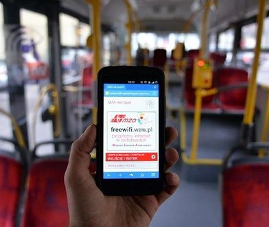 Darmowy internet w warszawskich autobusach. Już na wiosnę