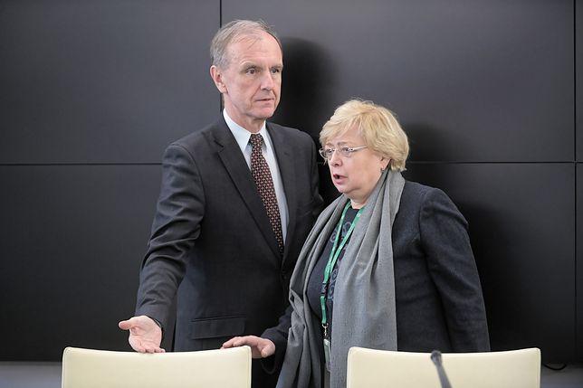 """Senacka komisja zajęła się ustawą """"dyscyplinującą"""" sędziów. Małgorzata Gersdorf: ta nowela prowadzić będzie do opuszczenia UE"""