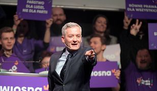 Najnowszy sondaż. Siedem partii w Sejmie, Wiosna na wysokiej pozycji