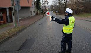 Śląskie. Pościg za kierowcą do Wojkowic. Pijany i bez prawa jazdy