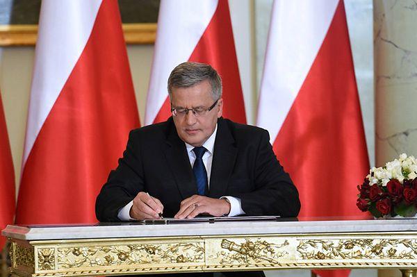 Zaprzysiężenie nowego rządu w Pałacu Prezydenckim