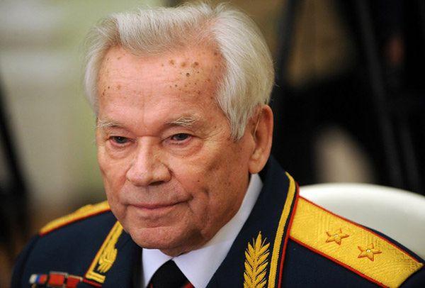 Michaił Kałasznikow w 2009 roku
