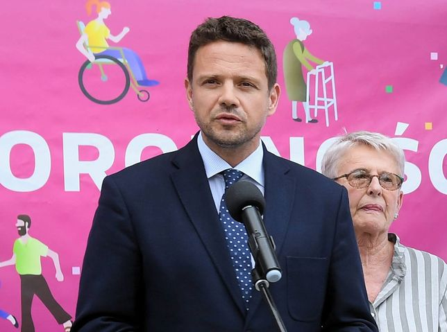 Rafał Trzaskowski - prezydent Warszawy