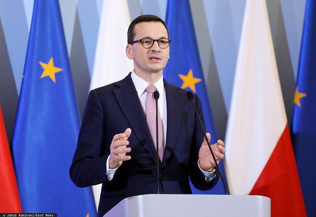 Koronawirus w Polsce. Premier Mateusz Morawiecki na konferencji prasowej