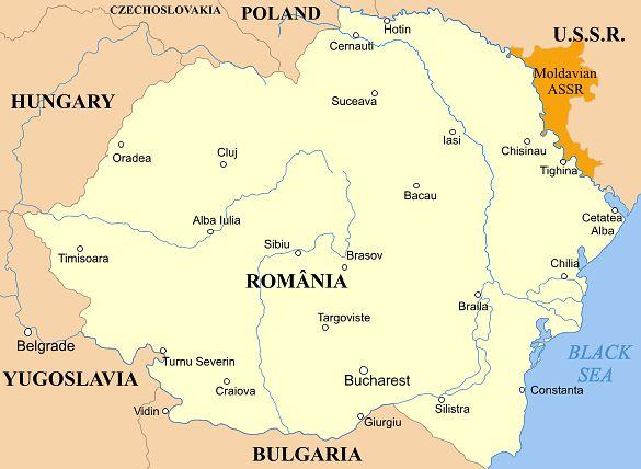 Rumunia w 1939