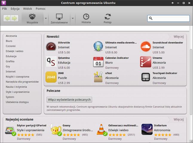 Centrum Oprogramowania Ubuntu