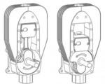 Silnik Hossacka - dwusuw z kwadratowym tłokiem