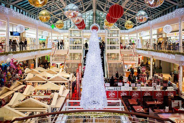 galeria handlowa, sklep, święta, boże narodzenie, zakupy