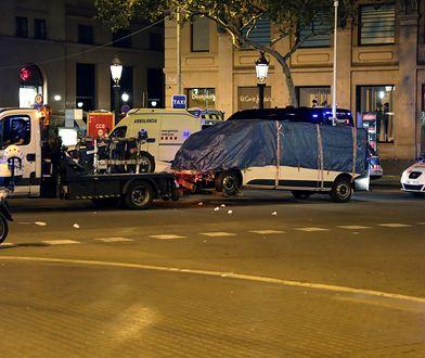 Potwierdzono tożsamość zamachowca z Barcelony. Furgonetką kierował Marokańczyk