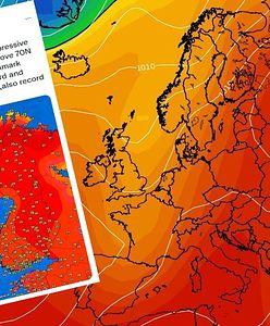 Pogoda w Skandynawii. W Norwegii odnotowano rekordową temperaturę