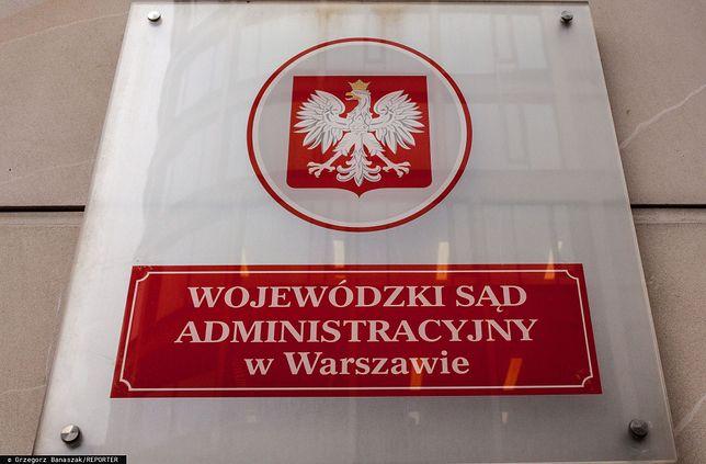 WSA w Warszawie wydał wyrok ws. list poparcia do KRS