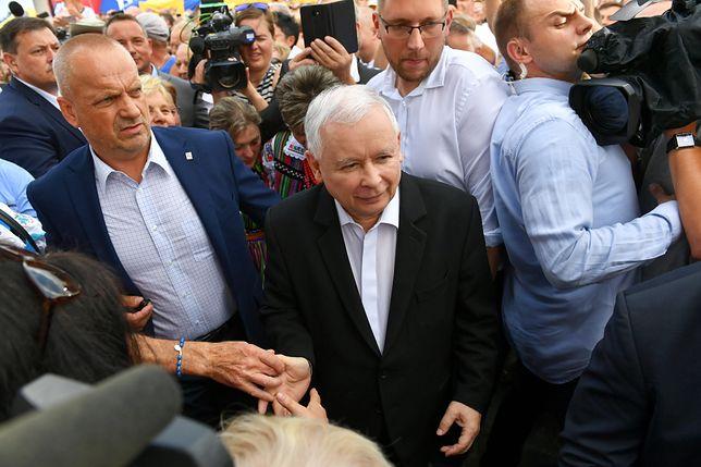 """Jarosław Kaczyński jest - według Karczewskiego - """"mężem stanu"""""""
