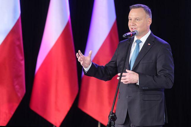 Andrzej Duda odniósł się do protestu sędziów na Twitterze