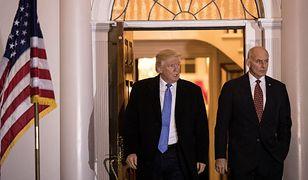 Donald Trump i gen. John F. Kelly