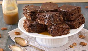 Dyniowie brownie rozpływa się w ustach.