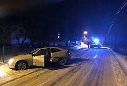 Pod Krakowem policja ścigała mercedesa. Padły strzały