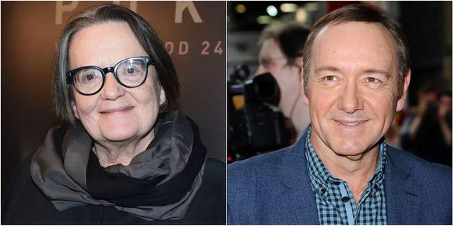 """Agnieszka Holland zabrała głos w sprawie Kevina Spacey'ego i akcji #metoo: """"niesie ze sobą niebezpieczeństwa"""""""