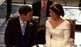 Gwiazdy na ślubie księżniczki Eugenii. Największą furorę zrobiły Kate Moss i Demi Moore