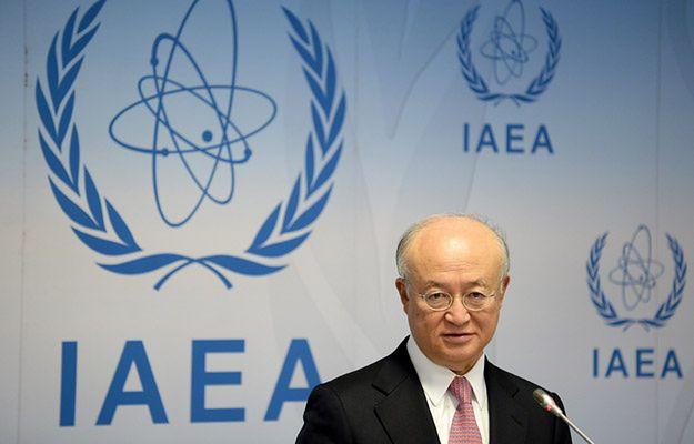 Yukiya Amano, szef Międzynarodowej Agencji Energii Atomowej (International Atomic Energy Agency)