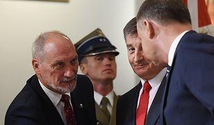 """Polko o konflikcie Dudy z Macierewiczem. """"Generałowie gdzieś znikają"""""""