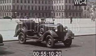 Przedwojenna Warszawa w kolorowych filmach [WIDEO]