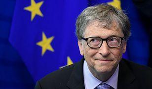 Bill Gates zaszczepił się przeciwko koronawirusowi