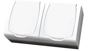 Bezpieczna łazienka - seria bryzgoszczelna MADERA firmy Ospel